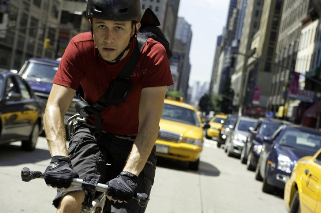 "Joseph Gordon Levitt in ""Premium Rush."" PHOTO COURTESY COLUMBIA PICTURES"